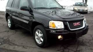 2005 GMC Envoy SLT, 4 door, 4x4, 2.4 6Cyl, Leather, P-roof, Jet Black with Leather!!!