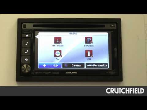 Alpine IVE-W535HD DVD Receiver Overview | Crutchfield Video
