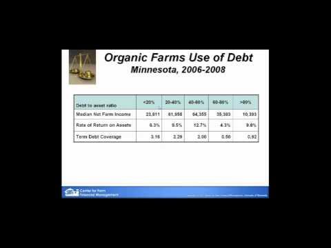 Organic Farming Financial Benchmarks Webinar
