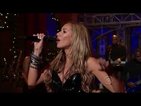 Leona Lewis - I Got You ( Late Show with David Letterman)