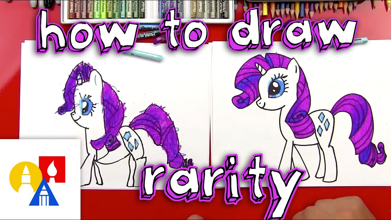 How To Draw Rarity My Little Pony Youtube