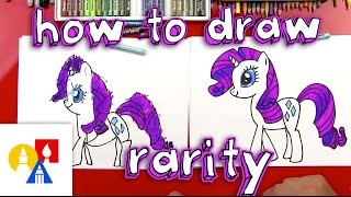 - How To Draw Rarity My Little Pony