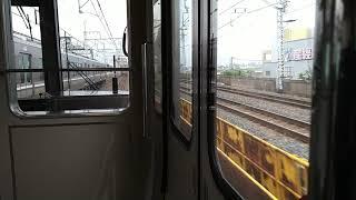 大阪〜尼崎のJR神戸線と丹波路快速の並走。