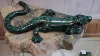 видео Музей камнерезного искусства (Екатеринбург) - сокровищница изделий из камня и драгоценных металлов