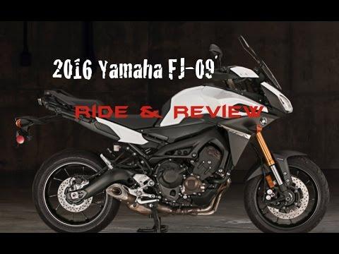 2016 yamaha fj 09 ride   review youtube