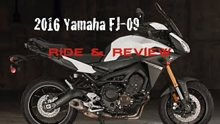 2016 yamaha fj 09 ride review