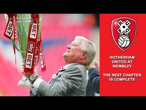 Rotherham United at Wembley - The Next Chapter is complete