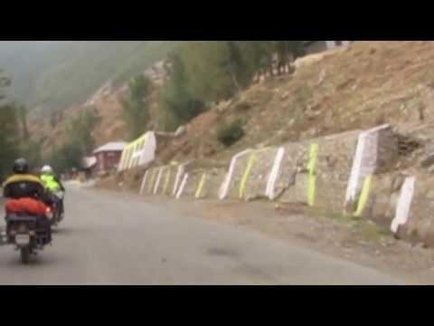 Enfield motor tour in the Indian Himalaya