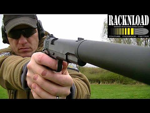 GSG 1911 Long Barrel Pistol Vs Steels! (Range Time) By RACKNLOAD