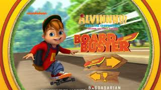 Alvin And The Chipmunks Alvin Board Buster Game