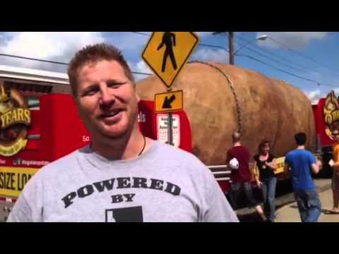 World's biggest potato rolls through Pawtucket