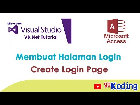 VISUAL BASIC Tutorial Login Form