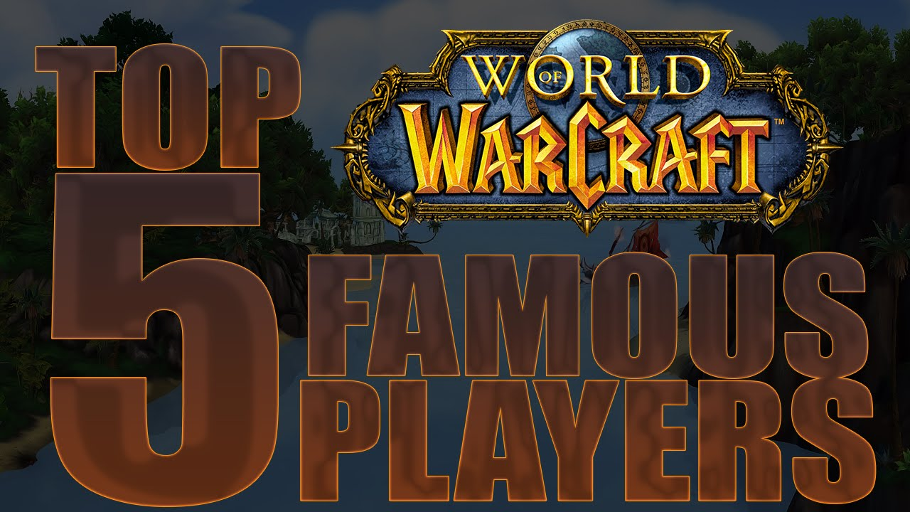 Top 5 Celebrities That Play World of Warcraft - YouTube