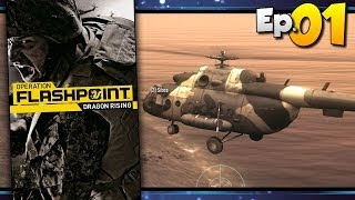 Operation Flashpoint: Dragon Rising (4p Co-op) - Day 01 [#01]