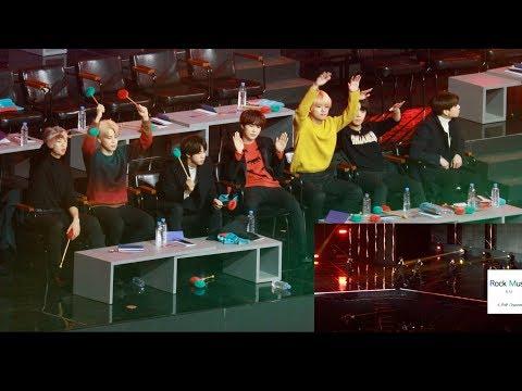 방탄소년단(BTS) React To Seventeen (어쩌나 + 박수 + 숨이차)[4K 직캠]@190106