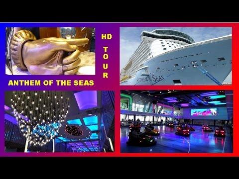 ANTHEM OF THE SEAS  SHIP TOUR  - ENGLISH