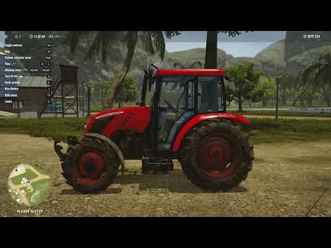 Let's Play Pure Farming 2018 Columbia part 5 Off to the Orient for lunch