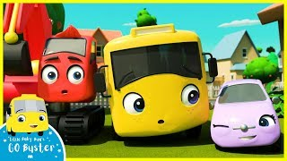 Buster and Friends Tidy Up Song | Go Buster | Baby Cartoons | Kids Videos | ABCs and 123s