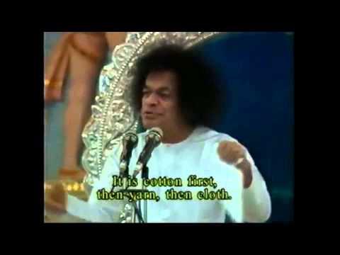 Sathya Sai Baba  speech - important