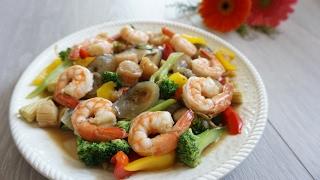 【 年菜食譜 】十全十美,鮮蝦干貝燴海參