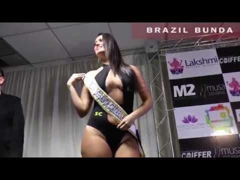 Musa do Brasil plus size fashion show 2015