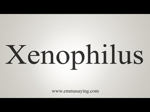 How To Pronounce Xenophilus