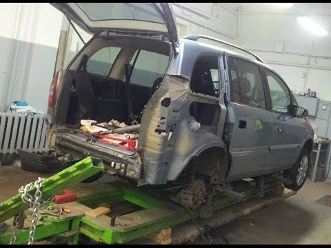 Opel Zafira collision repair – Vauxhall Zafira accident repair