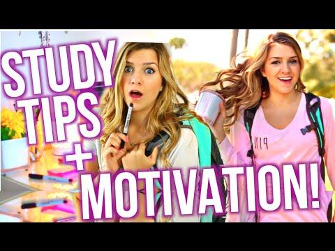 Study Tips + Motivation & Lifehacks for School!