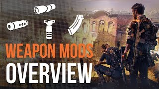 Weapon Mods | The Division 2 (E3)