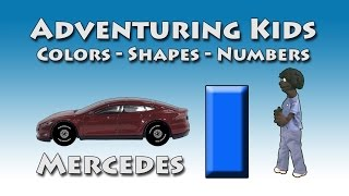 Adventuring Kids - Colors, Shapes and Numbers - Mercedes