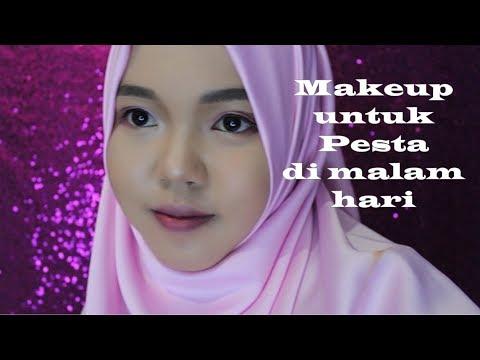 makeup-untuk-pesta-di-malam-hari-//-night-party-makeup-(bright-eyes-makeup)
