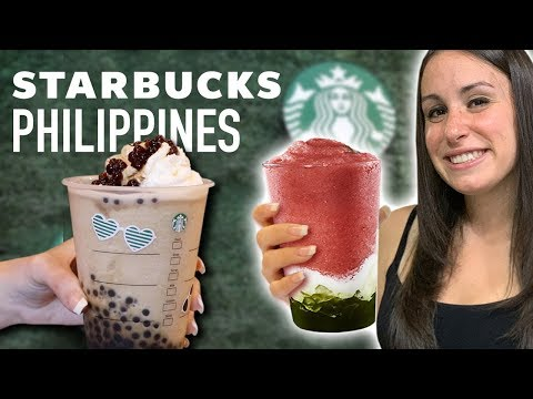 CRAZY STARBUCKS DRINKS