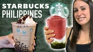 CRAZY STARBUCKS DRINKS ?in the Philippines!!