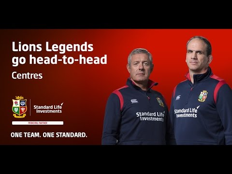 Who makes the Squad? British & Irish Lions legends pick their Centres