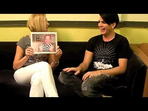 Kelly Interviews Adam Lambert