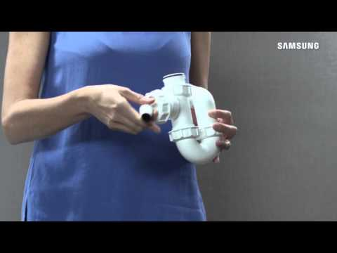 How to install your Samsung Water Wall dishwasher to a water supply