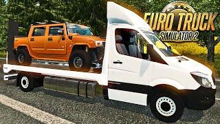 Guincho da Mercedes Benz - Euro Truck 2