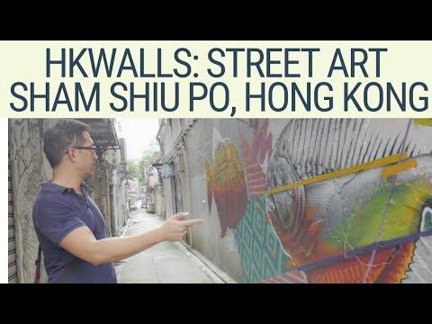 A tour of HK Walls (street art) in Sham Shui Po Hong Kong