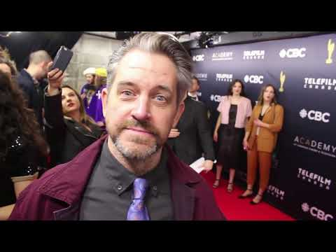 Chat w Allan Hawco about the 2018 Canadian Screen Awards