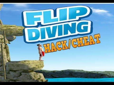 Flip diving glitch