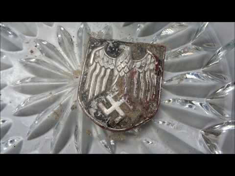 Nazi eagle discovered while cleaning metal detecting find