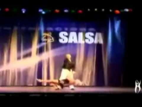 Unbelievable Ginger Rogers Salsa Performance. She's 92 Years Old!