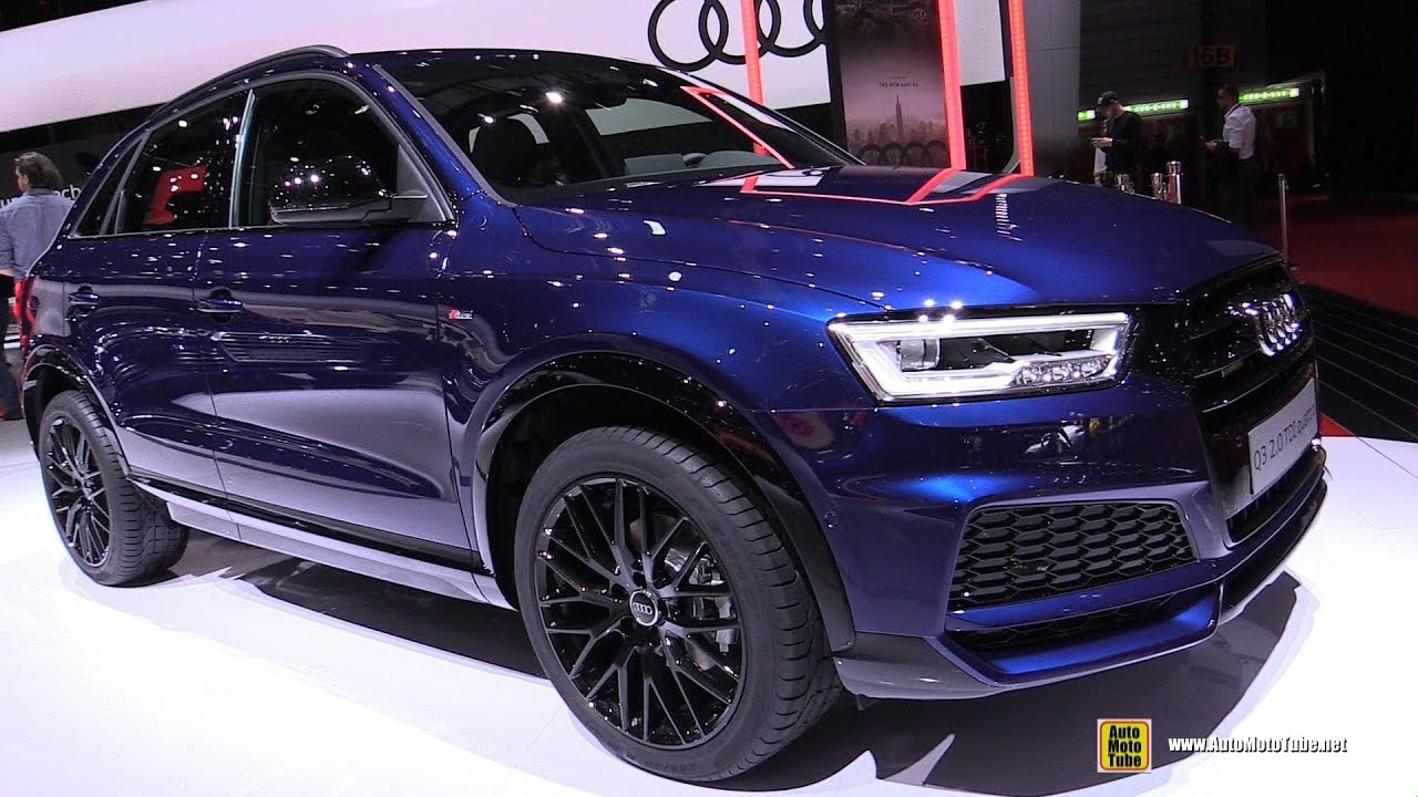 2018 audi q3 2 0 tdi quattro exterior and interior walkaround 2018 geneva motor show youtube. Black Bedroom Furniture Sets. Home Design Ideas