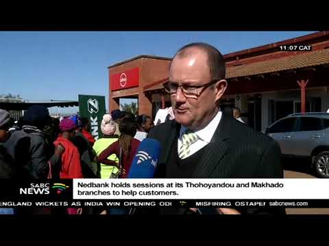 Nedbank holds sessions at its Thohoyandou and Makhado branches to help customers