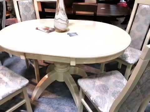 Кухонные столы и стулья.  Стол  Престиж и стулья Катрин