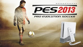 Pro evolution Soccer 2013 Nintendo Wii Gameplay PES