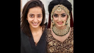 Indian bridal makeup by KritiDS