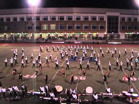 2011 New Milford HS Marching Band at Brien...