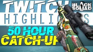 """50 Hour Catch-Up"" - Flexinja Twitch Highlights #11 (Black Squad)"