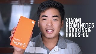 Xiaomi Redmi Note 5 Unboxing and Hands-On
